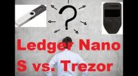 Portofel hardware: Trezor vs. Ledger 1